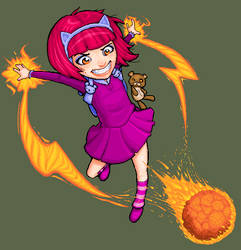 MSPAint VS. LOL: Annie by royalflushxx