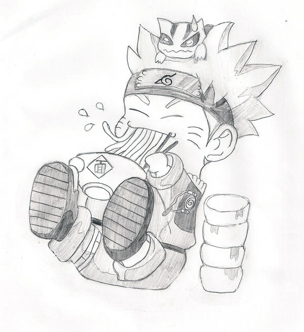 Chibi naruto by luthrien on deviantart for Chibi naruto coloring pages