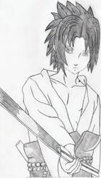 sasuke by luthrien