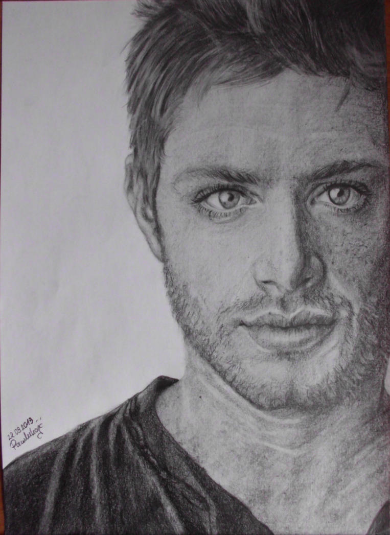 Jensen Ackles by Lilleandra