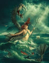 Ruler of the sea by Irina-E