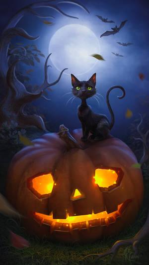 Halloween Night by Twinkle-space