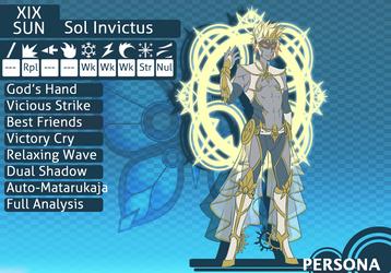 MM R10 Sol Invictus by baka-kiiro