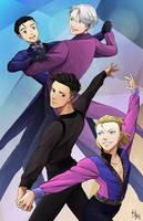 Yuri!!! on Dance Floor by baka-kiiro