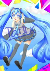 Miku A3 Poster by Parii-Chan