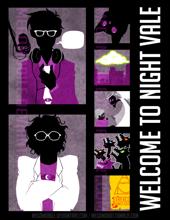 Welcome to [Minimal] Night Vale by megomobile