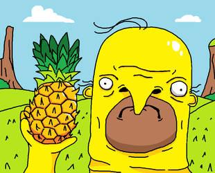 Pineapple Choomah by NikSudan