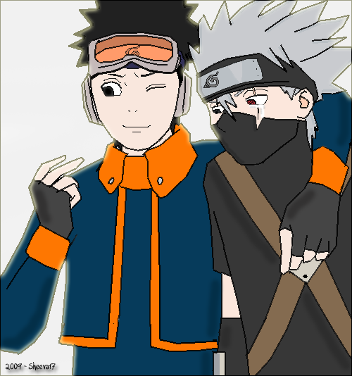 Kakashi, This Is My Gift By Sheeva17 On DeviantArt
