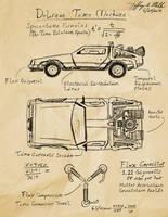 DeLorean Time Machine by Jeffrey-Scott