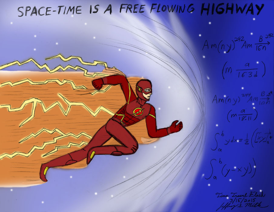 Time Travel Flash by Jeffrey-Scott