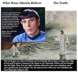 Atheism vs. Truth 3 by Jeffrey-Scott