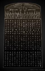 Simplified Complete Rosetta Stone by Jeffrey-Scott