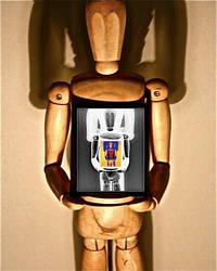 Wooden Figure, Warhol'd by TheMetalZombie