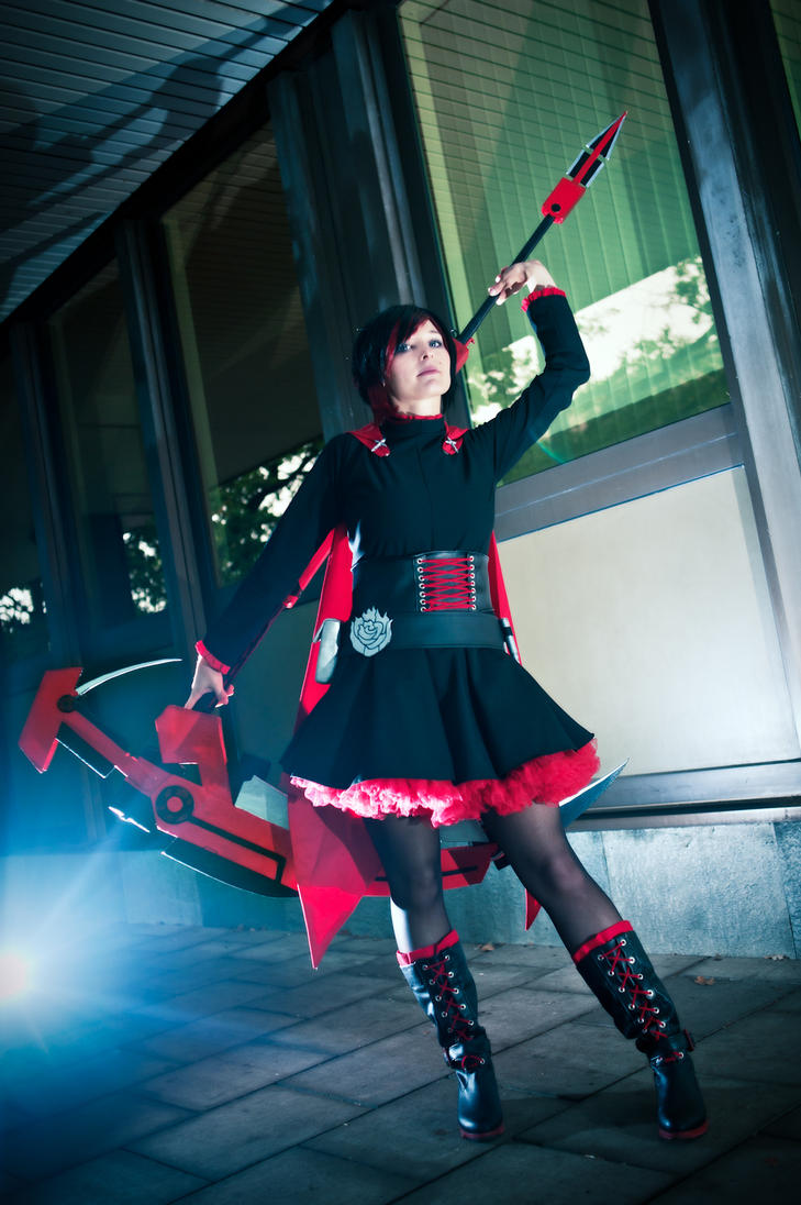RWBY - Ruby Rose by Franky-chan
