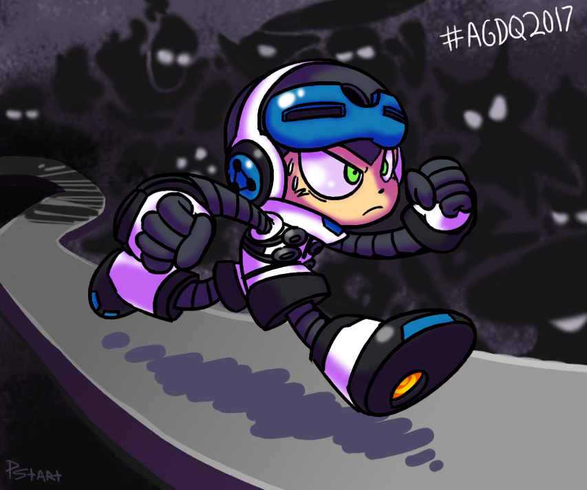 AGDQ 2017 Mighty No. 9 by kenshinmeowth