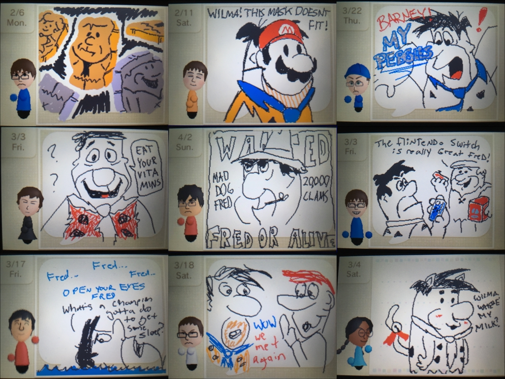 Draw Fred Flintstone by kenshinmeowth