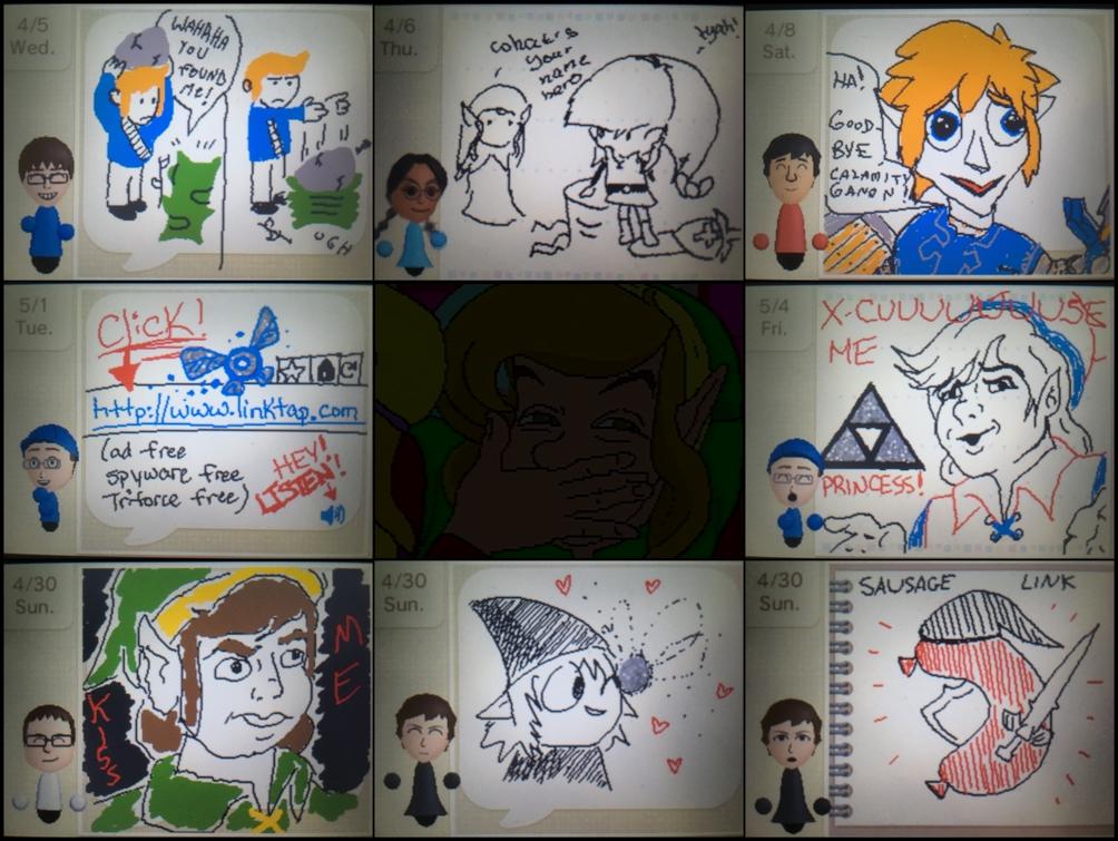 Draw Link by kenshinmeowth