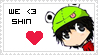 We :heart: Shin - Stamp by Rainbow-Mist-Topaz