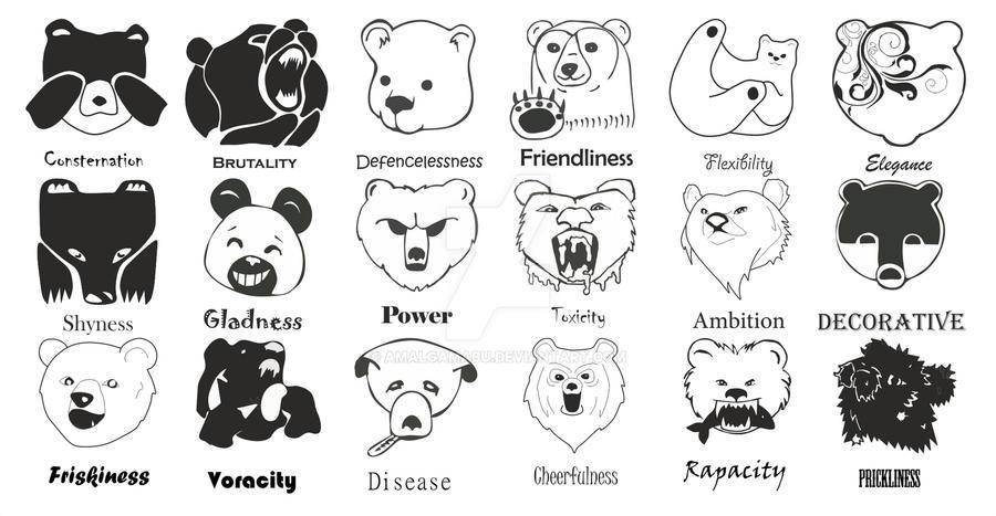 Bears (iconic sign) by AmalgamaBu