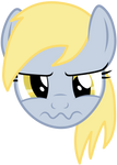 Unhappy Derpy is unhappy