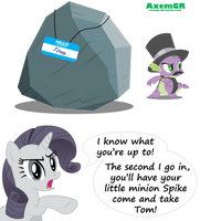 Rarity's thoughts. by AxemGR