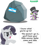 Rarity's thoughts.