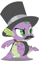 Spike the Villain by AxemGR