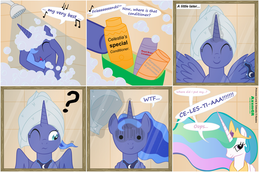 The truth about Luna's hair