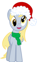 Derpy as your secret Santa. by AxemGR