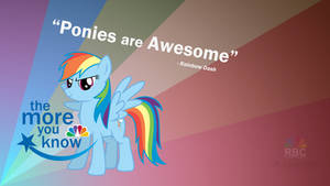 Rainbow Dash: The more you know.