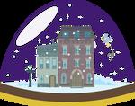 Derpy Snowglobe