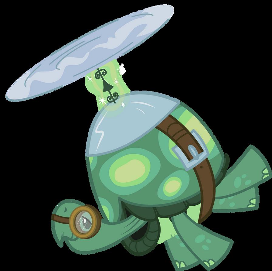 Tank the flying Turt- Err, Tortoise! by AxemGR