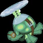 Tank the flying Turt- Err, Tortoise!
