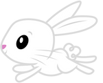 Angel Bunny on the run!