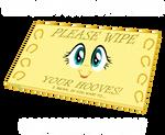 Lolponies: Fluttershy Doormat.