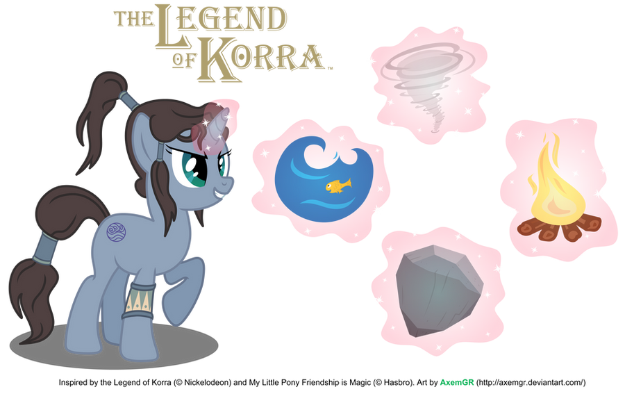 The Legend of Pony Korra by AxemGR