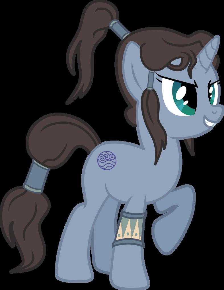 Korra Pony by AxemGR