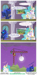 Raising the Moon by AxemGR