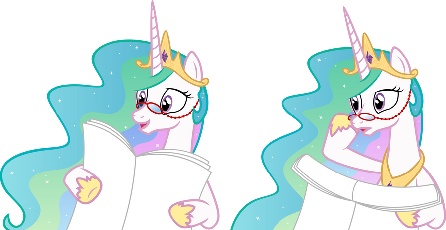 Celestia's Paper by AxemGR