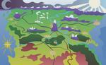 Map of Equestria (artistic)