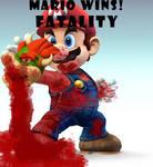 Mario mortal kombat FATALITY