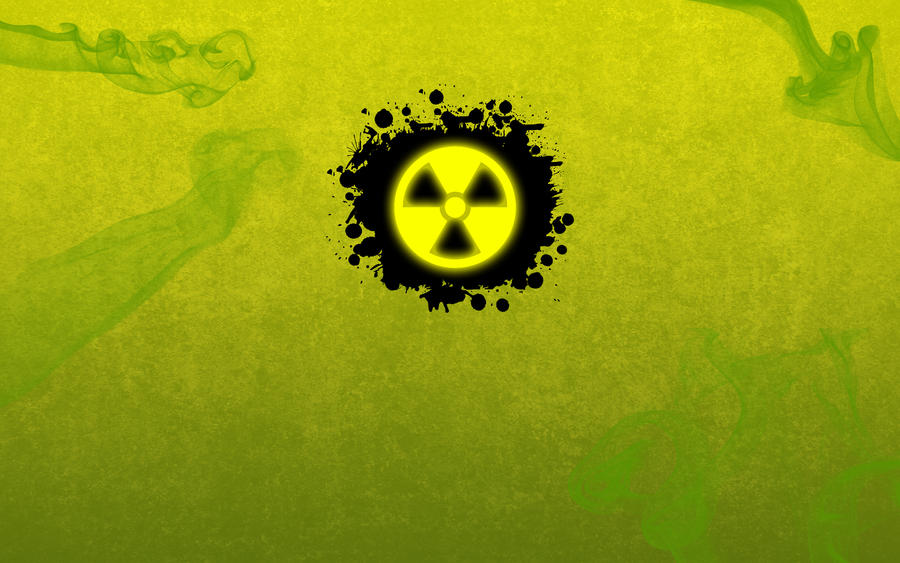 Radioactive wallpaper by SplashOfSummer