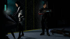Mass Effect: Miranda and Shepard