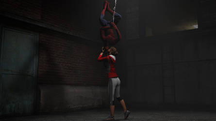 A Kiss For Spider-Man