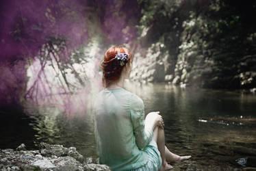 water spirit by ADotInTheUniverse