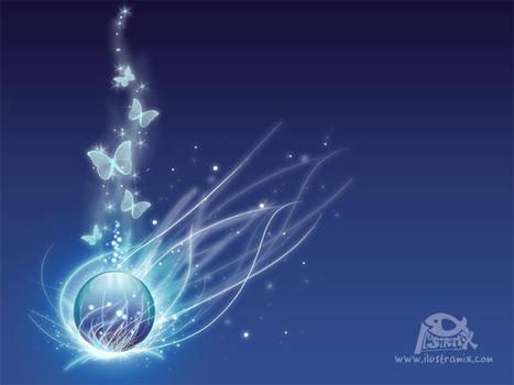 Blue Magic Water Orb