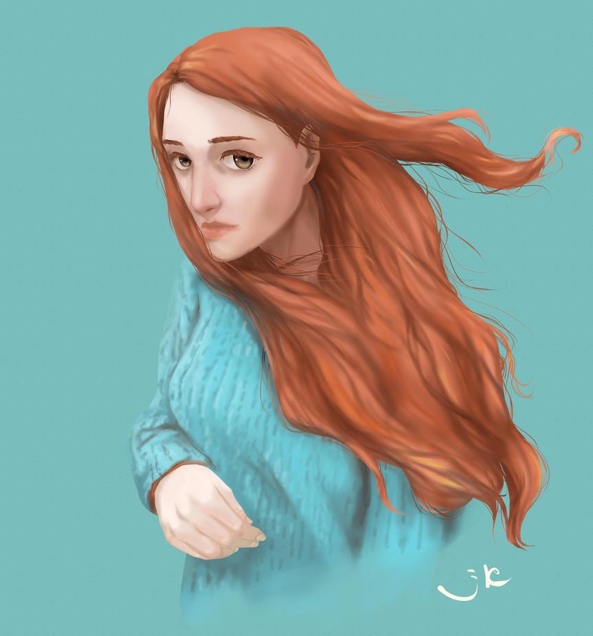 Red hair by MeiMei-KaiTen