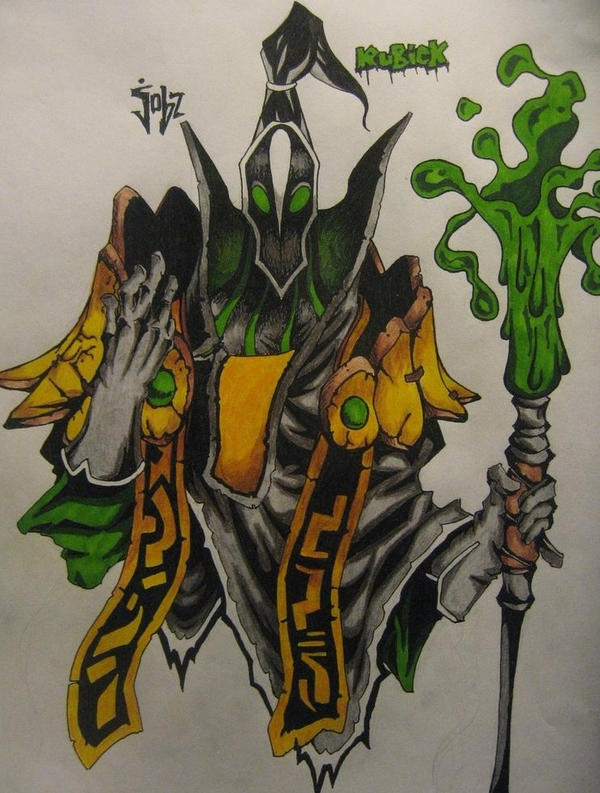 dota2 rubick the grand magus by thebloodsin on deviantart