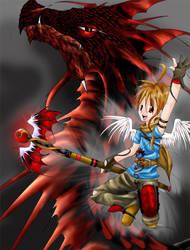 Dragon Summon by silverdragon27
