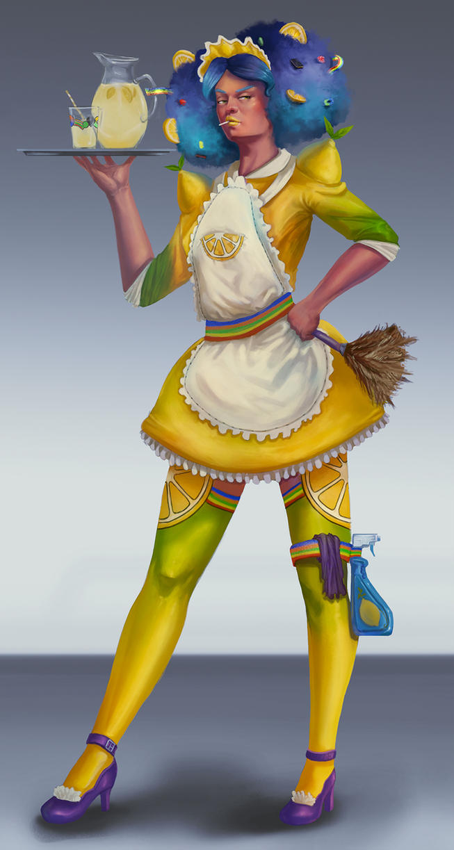 Lemon Maid by Orchetto